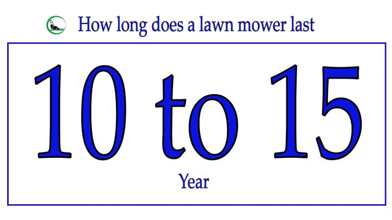 How long does a lawn mower last | Easy Buyer Guideline 2021
