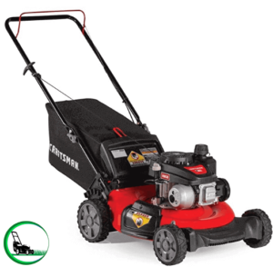Craftsman M105 140cc 21-Inch 3-in-1 Gas Powered Push Lawn Mower with Bagger, 1-in
