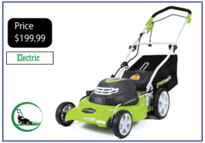 Greenworks 25022 20-Inch Electric Corded Lawn Mower